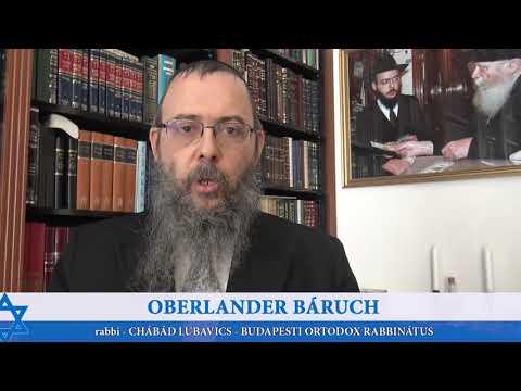 319 Mindenki legyen ott, a csecsemők is – Oberlander Báruch (Bemidbár, Tóra adás, Tízparancsolat)