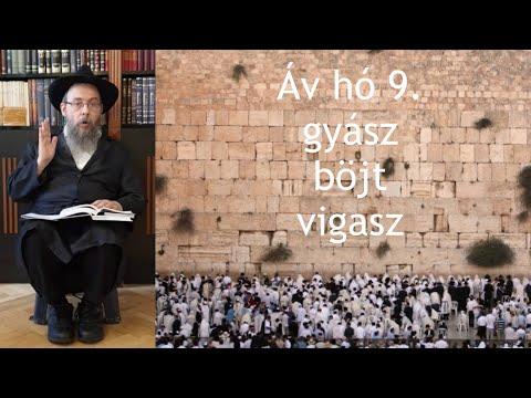 357 A Szentély lerombolása, mint vigasz – Oberlander Báruch (Áv hó 9., a zsidó nép mindig megmarad)