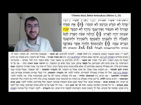 Chumás-Rási, Behár 2. (25:5-7)