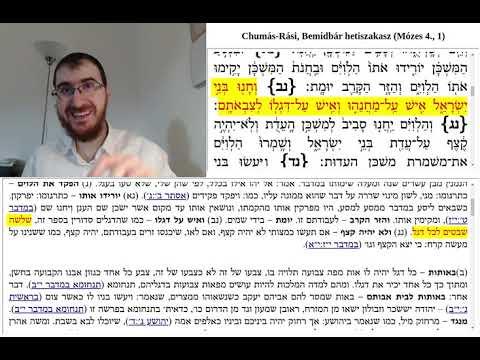 Chumás-Rási, Bemidbár 2. (1:50-2:2)