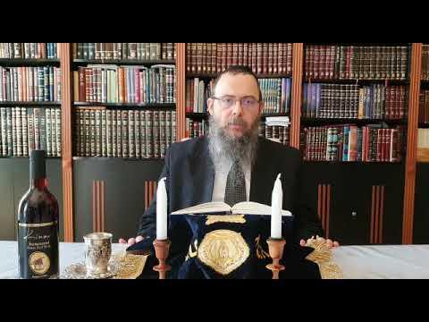 063 Legyünk büszke, vallásos zsidók mindenhol – Oberlander Báruch (Korách hetisz., a mezűze szerepe)
