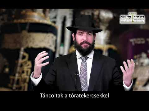 Nem én viszem a Tórát, a Tóra visz engem – Raskin rabbi, Budapest (Szimchát Torá)
