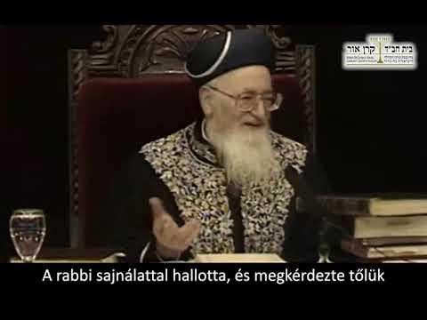 Noah hetiszakasz – Raskin rabbi Budapest (észrevenni mások jó tulajdonságait)
